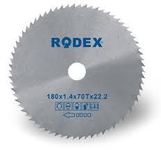 Диски по дереву RODEX 180х22.2mm
