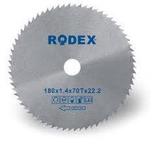 Диски по дереву RODEX 115х22.2mm