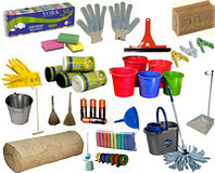 Веники, лопаты, материалы