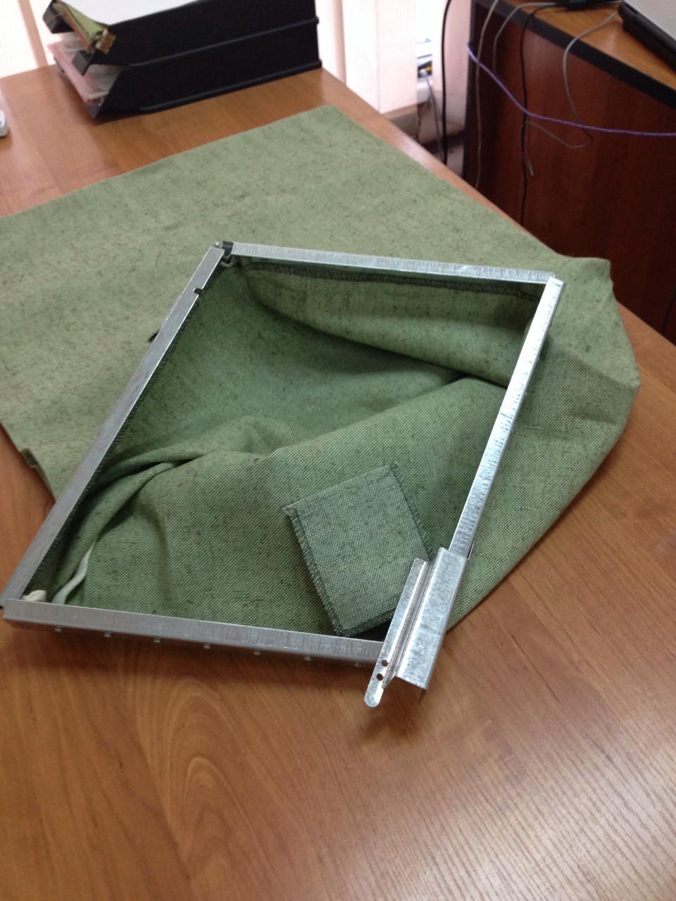 Мешок для эвакуации документов 90х60см с металл. замком из брезента