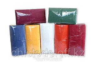Салфетки сервировочные  3-сл. цветные 33*33  в пачке 20 листов