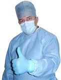 Халаты, фартуки, шапочки-береты медицинские