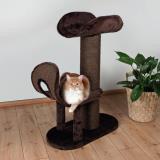 """Trixie 44490 Когтеточка домик для кошки """"Рамирес"""", высота 93см, коричневый., фото 1"""