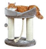 """Trixie 47062 Когтеточка домик для кошки """"Марселла"""", высота 60см, серый"""