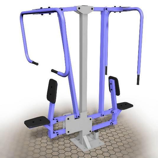 Вертикальная тяга+жим сидя (UZ021)