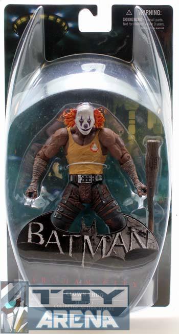 "DC Collectibles ""Batman Arkham City"" Фигурка Clown Thug with Bat"