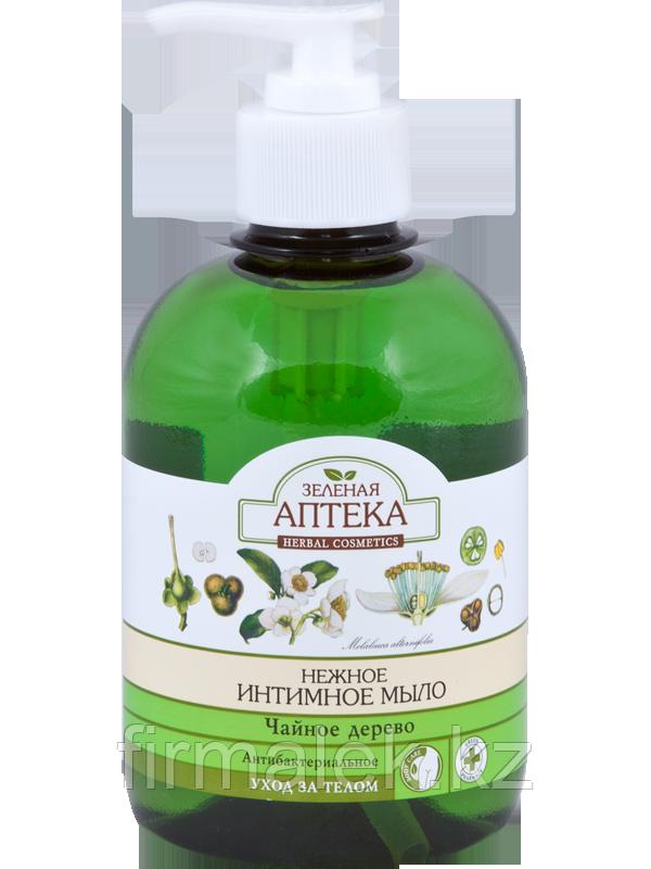 ЗА Нежное интимное мыло Антибактериальное «Чайное дерево»