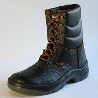Ботинки утепленные с высокими берцами Буран
