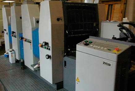 Печатная машина Ryobi 524 HXX, бэушка 2001