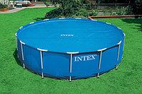Обогревающее покрывало Intex Solar Pool Cover для бассейнов (457см), фото 1