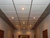 Кассетные алюминиевые потолки
