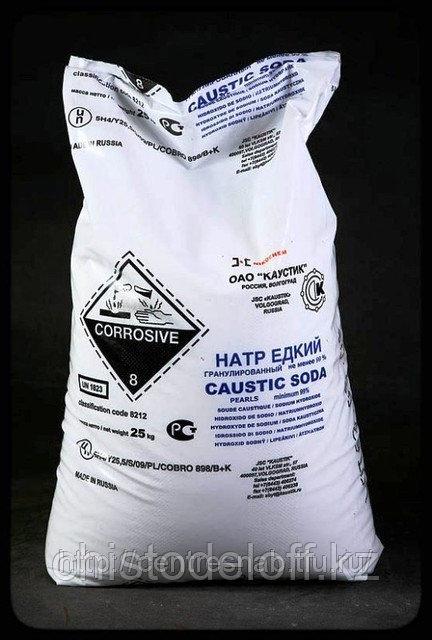 Каустическая сода 25 кг