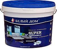 Краска водоэмульсионная акриловая SUPER