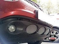 Защитная сетка/решетка радиатора на Nissan Juke/Ниссан Жук 2010-2013, фото 1