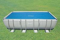 Обогревающее покрывало Intex Solar Pool Cover для бассейнов (549см x 274см), фото 1