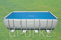 Обогревающее покрывало Intex Solar Pool Cover для бассейнов (549см x 274см)
