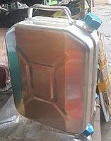 Канистра для бензина 20 л алюминиевая, фото 1