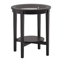 Столик придиванный МАЛМСТА черно-коричневый ИКЕА, IKEA , фото 1