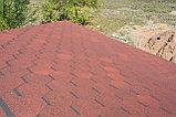 Гибкая черепица RUFLEX Sota (Красный крыжовник), SBS (СБС) модифицированный битум, т+7(707)5705151, фото 2