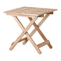 Столик придиванный СКУГХАЛЬ акация ИКЕА, IKEA , фото 1