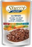 Stuzzy Dog 100г с говядиной в соусе консервы в пауче для собак, фото 1