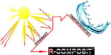 Эластичная гидроизоляция R-COMPOSIT ROOF, растяжение до 503%! в Астане