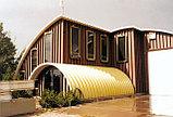 Строительство самонесущих зданий, выполненных по бескаркасной технологии методом фальцевого соединения, фото 2