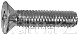 6x16 Винт с потайной головкой DIN965 оц