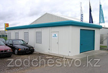Быстросборные сборно-разборные модульные офисно-бытовые, складские, санитарные здания из контейнеров