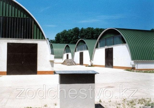Строительство быстромонтируемых зданий, сооружений по технологии бескаркасного строительства