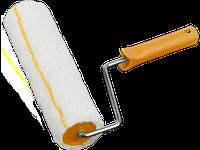 """Ролик сменный STAYER """"PROFI"""" MAXProfi """"GIRPAINT"""", полиакрил 12мм, ручка 8мм, d=55/250мм"""