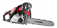 Профессиональная пила ЗУБР цепная бензиновая, хромир цилиндр, праймер, 40 см3 (1,5 кВт), шина 40см, 12500 об/