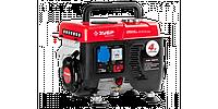 Генератор ЗУБР бензиновый, 4-х тактный, ручной пуск, 800/650Вт, 220В