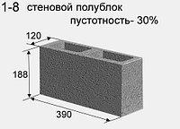 Сплитерный полублок (пустотность 30%) цветной