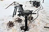 Аренда установки сваекрута, Строительство в стесненных условиях, устройство фундаментов из винтовых свай, фото 2