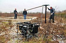 Аренда установки сваекрута, Строительство в стесненных условиях, устройство фундаментов из винтовых свай