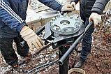 Строительство, устройство быстровозводимых фундаментов из винтовых свай для заборов, ограждений, домов, зданий, фото 5