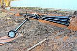Аренда установки сваекрута, Строительство в стесненных условиях, устройство фундаментов из винтовых свай, фото 5