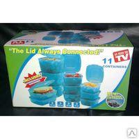 Контейнеры для хранения продуктов, 11 контейнеров The lid Always Conn. Алматы