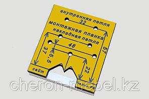 Мебельный кондуктор для петель