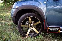 Накладки на колёсные арки Renault Duster/Рено Дастер 2010-, фото 1