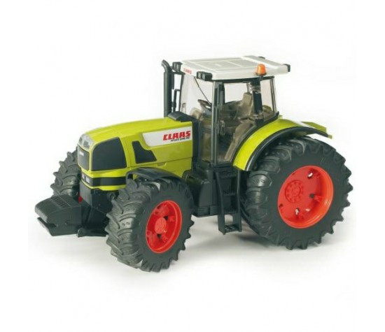 Bruder Игрушечный Трактор Claas Atles 936 RZ с прицепом (Брудер)