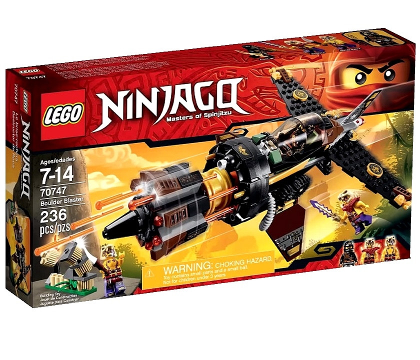 70747 Lego Ninjago Скорострельный истребитель, Лего Ниндзяго