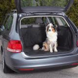 Trixie 1318 Авточехол из водостойкого нейлона для багажника, на липкой ленте, 2,30м.*1,70м. Черный цвет, фото 1