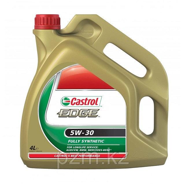 Синтетическое моторное масло Castrol   EDGE SAE 5W-30 4литра