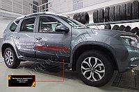 Молдинги на двери Nissan Terrano/Ниссан Террано 2014-, фото 1