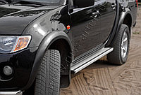 Расширители колесных арок Mitsubishi L200/Митсубиши Л200 2008-, фото 1