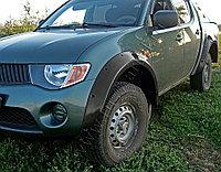 Расширители колесных арок (Широкие) Mitsubishi L200/Митсубиши Л200 2008-, фото 1