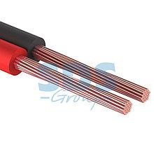 Кабель акустический,  2х0.35 мм², красно-черный, 100 м.  PROCONNECT