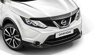 Мухобойка\дефлектор капота на Nissan Qashqai /Ниссан Кашкай 2014-, фото 1